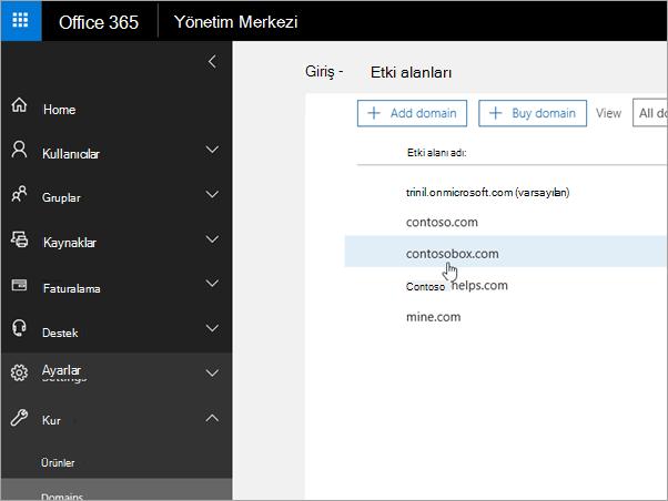 Office 365_C3_2017530143622'te etki alanınızı seçin