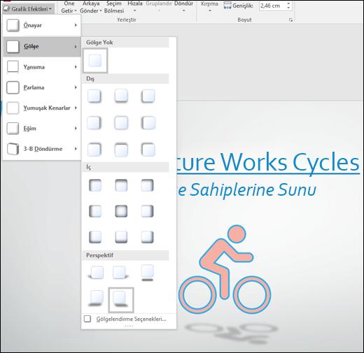 Ekleme gibi efektleri gölge SVG grafiklerinizi grafik efektleri aracıyla için bırakın