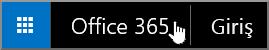 Office 365 Başlangıç sayfasına gitmeyi sağlayan düğme