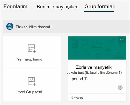 Grup formları sekmesindeki form kopyası