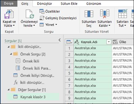 İkili Önizleme iletişim bir araya getirin. Kapat tuşuna basın ve sonuçları kabul etmek ve bunları Excel'e içeri aktarmak için yükle.