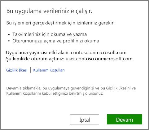 Office 365'te oturum açın