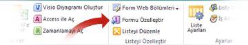 Infopath kullanarak formları özelleştirme