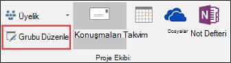 Outlook 2016'da grup düzenleme