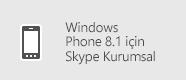 Skype Kurumsal - Windows Phone