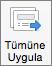Geçiş Mac için PowerPoint uygulamak için tüm komutu