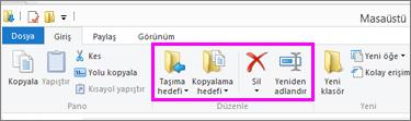 İndirilen dosyanın yerleştirildiği klasörü açın.