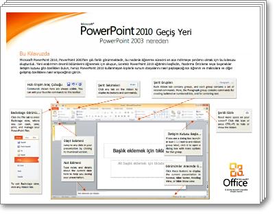 PowerPoint 2010 Geçiş Kılavuzu Küçük Resmi