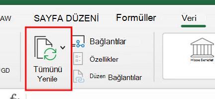 Mac için Excel'de Power Query'yi Kullanma