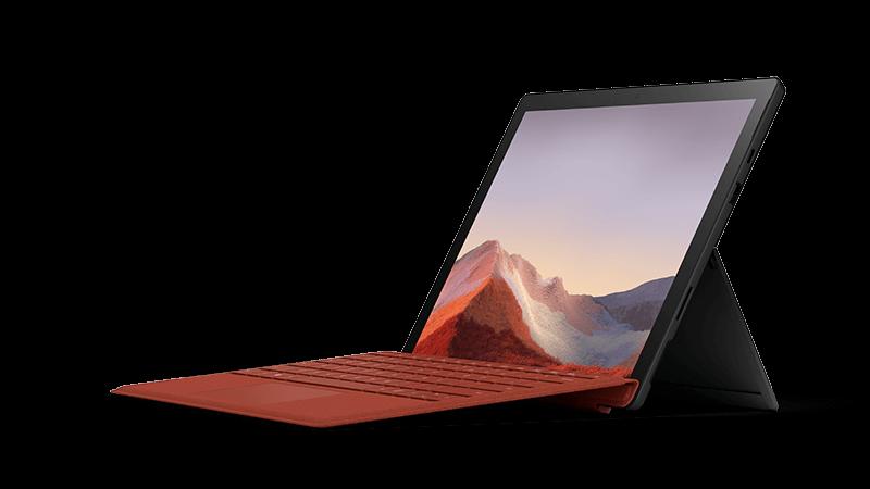 Surface Pro 7 cihaz fotoğrafı