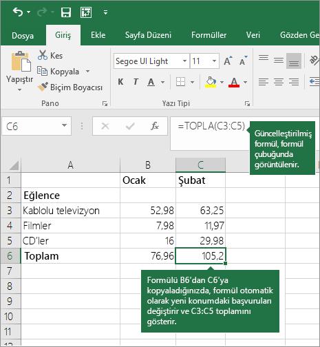 Excel I Hesap Makineniz Olarak Kullanma Excel