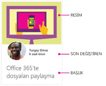 Android için Delve içerik kartı