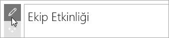Microsoft Forms web bölümünü düzenleyin.