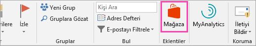 Depolama düğmesinin Ekran görüntüsü