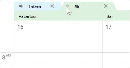 Outlook 'ta geçersiz takvimler