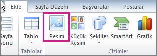 Office 2010 Resim Ekle
