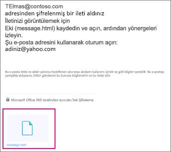 Yahoo 1 ile OME Görüntüleyicisi