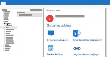 Mac için Outlook'ta grup konuşmalarını görüntüleyin, okuyun veya bu konuşmaları yanıtlayın