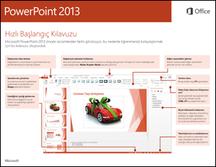 PowerPoint 2013 Hızlı Başlangıç Kılavuzu