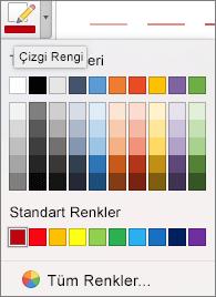 Bir renk seçin