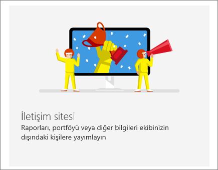 SharePoint Office 365 İletişim sitesi