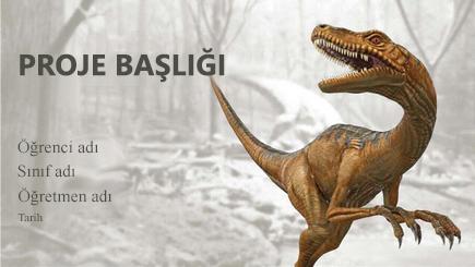 3-A dinozor raporunun kavramsal görüntüsü