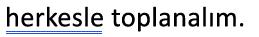 Bir mavi altını çift çizme ile işaretlenmiş bir dilbilgisi hatası