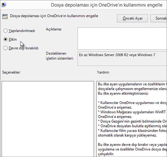 Microsoft OneDrive Kaldırma