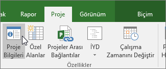 Proje bilgileri