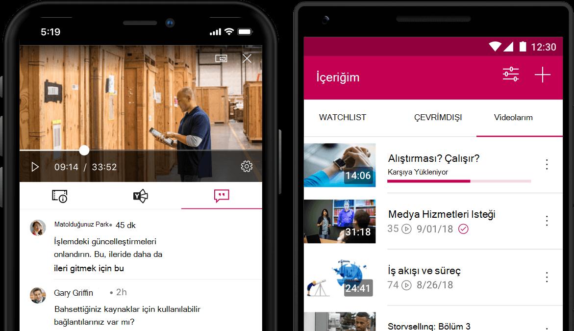 Stream mobil uygulama