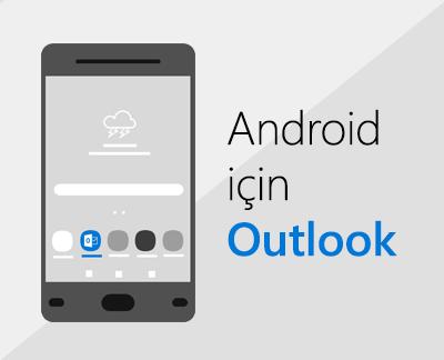 Android için Outlook'u ayarlamak için tıklayın