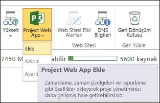 Project Web App > Ekle