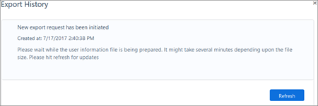 Ekran görüntüsü: Kaizala verme geçmiş sayfası