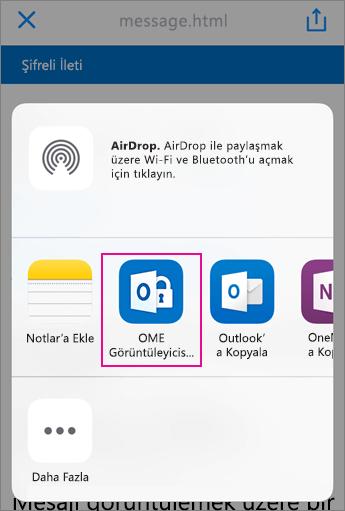 Yahoo 3 ile OME Görüntüleyicisi
