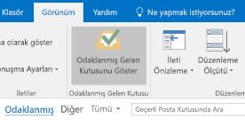 Outlook Odaklanmış Gelen Kutusu özelliği