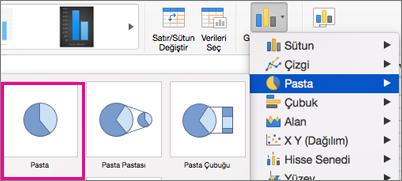 Mac için Office Grafik Türü Seçici