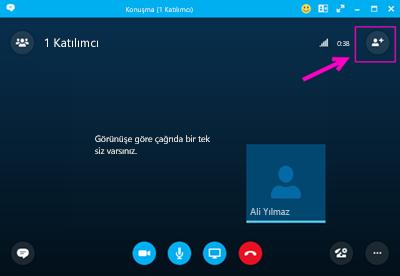 Skype Kurumsal ile dışarıyı arayın.