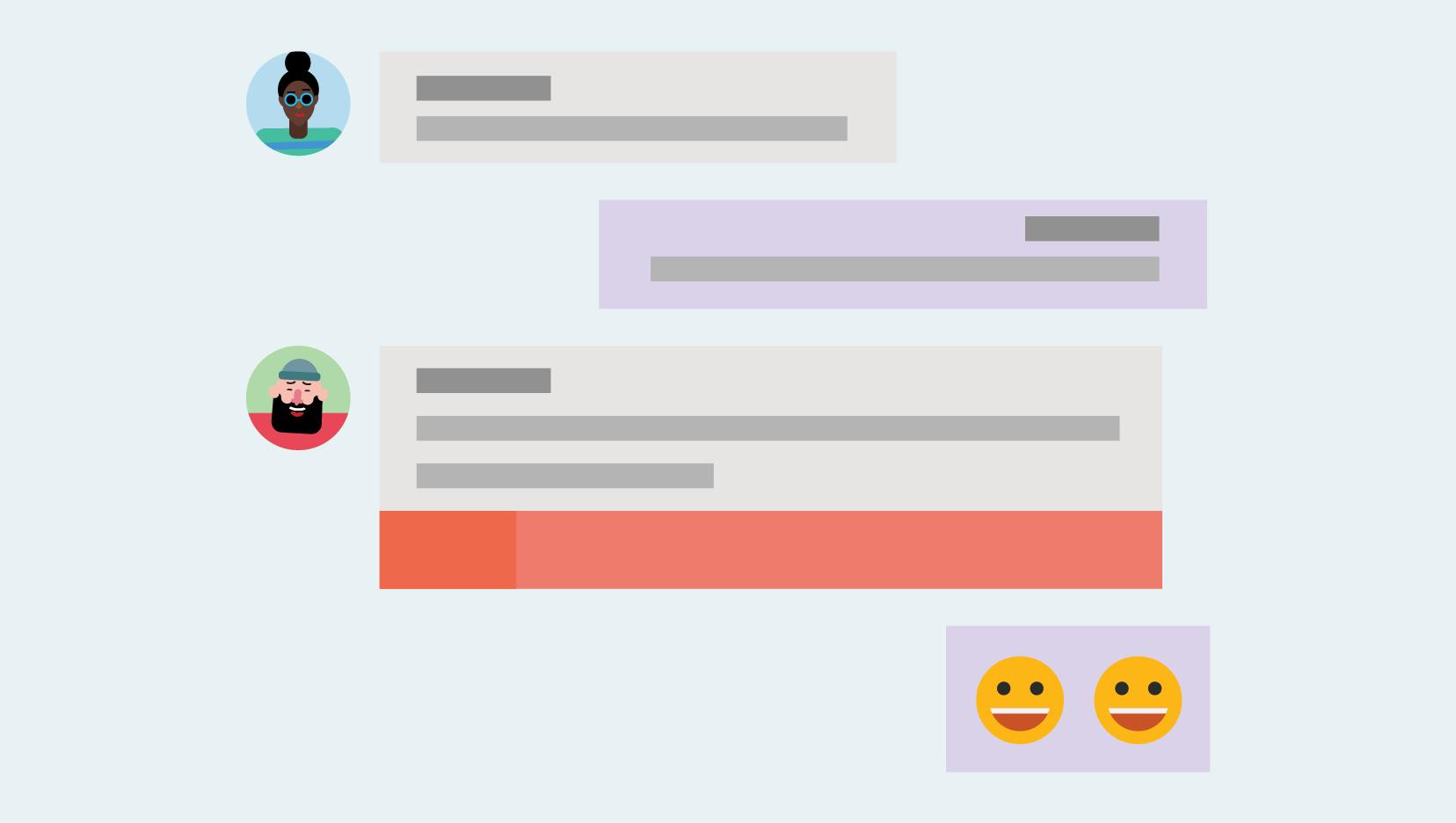 Ekiplerin içinde sohbet etme