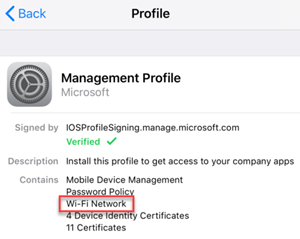 Yönetim profili
