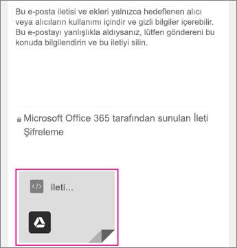Gmail 1 ile OME Görüntüleyicisi