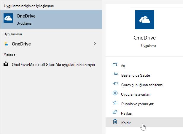 OneDrive Mağazası uygulaması kaldırılıyor