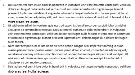 Numaralandırılmış paragraflar