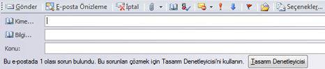 Publisher 2010'da yayını e-posta olarak gönderme