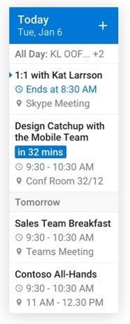 E-posta widget'ini yeniden boyutlandırma