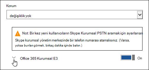 Microsoft Forms özelliğini görmek için lisansı genişletme