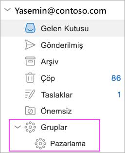 Outlook Grupları Office 365'te kullanılabilir!