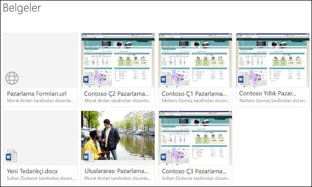 Office 365'te bir belge kitaplığına bağlantı ekleme