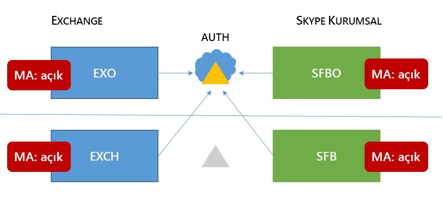 Karma 6 Skype Kurumsal HMA topolojisi hareketli ortalama dört tüm olası konumlarda bulunur.