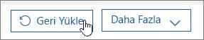 Office 365'te kullanıcı geri yükleme.