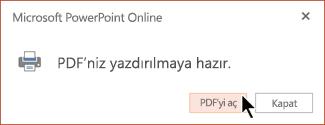 PDF'niz hazır